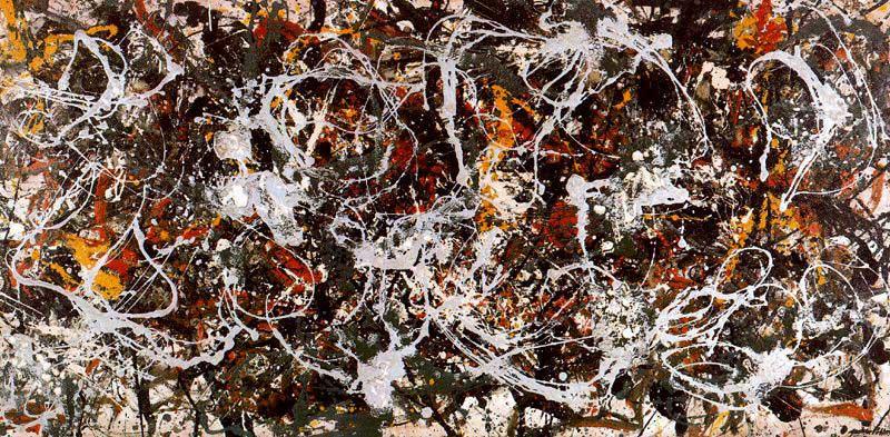 """""""Number 3"""", de Jackson Pollock"""