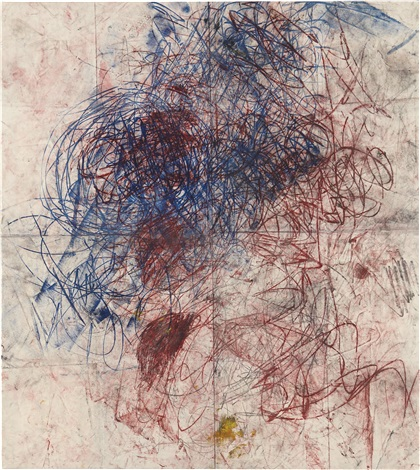 """""""Untitiled, Drawings off the wall"""", de Óscar Murillo."""