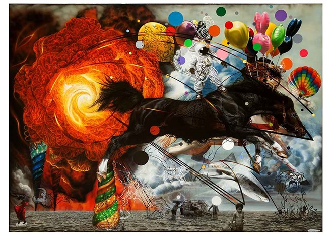 """Wonderful Bait"", de Ronald Ventura"